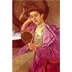 Mary Cassatt - Antoinette At Her Dresser