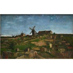 Van Gogh - The Hill Of Monmartre