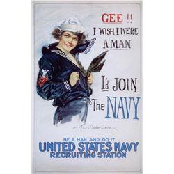Howard Christy - US Navy Woman