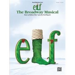 Elf the Broadway Musical , Piano and Vocal book