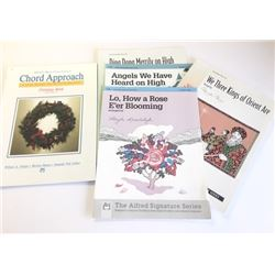 One book and four Sheet Music Songs, all Christmas
