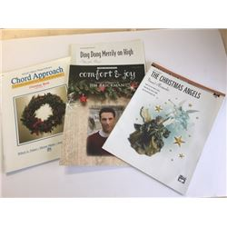 One book and three Sheet Music Songs, all Christmas