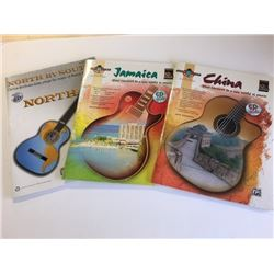 Three Guitar Song Books