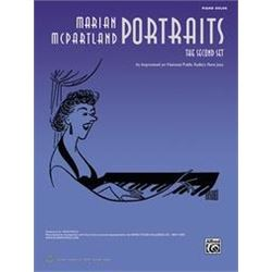 Marian McPartland Portraits -- The Second Set: Piano Solos Paperback