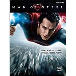 Man of Steel - Sheet Music Selections from the Original Motion Picture Soundtrack: Piano Solos Paper