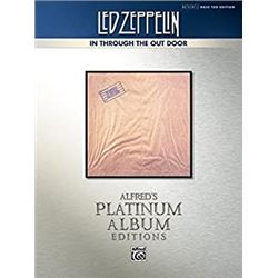 Led Zeppelin - In Through the Out Door Platinum Bass Guitar: Authentic Bass TAB (Alfred's Platinum A