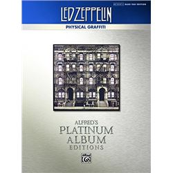 Led Zeppelin: Physical Graffiti Platinum Bass Guitar: Authentic Bass TAB (Alfred's Platinum Album Ed