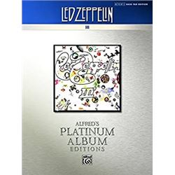 Led Zeppelin: III Platinum Bass Guitar: Authentic Bass TAB (Alfred's Platinum Album Editions)