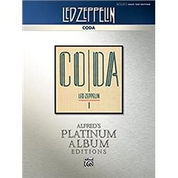Led Zeppelin - Coda Platinum Bass Guitar: Authentic Bass TAB (Alfred's Platinum Album Editions)