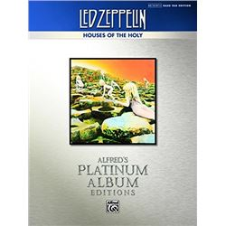 Led Zeppelin: Houses of the Holy Platinum Bass Guitar: Authentic Bass TAB (Alfred's Platinum Album E