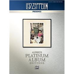 Led Zeppelin - Presence Platinum Bass Guitar: Authentic Bass TAB (Alfred's Platinum Album Editions)