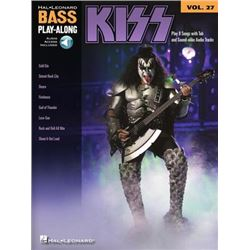 KISS Songbook Bass Play-Along Volume 27