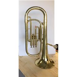 B& H 400 Tenor Horn with Mouthpiece and Case