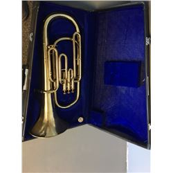 Horn - Boosey & Hawkes Lafleur Eb Tenor Horn, with mouthpiece and case