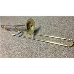 Besson Straight Trombone with mouthpiece and case