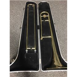 Besson Trombone with Vincent Bach Mouth Piece and Case