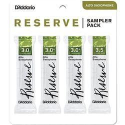 Reserve Reed Sampler Pack - Alto Saxophone 3/3+/3-1/2+, 4-Pack