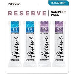 Reserve Reed Bb Clarinet Sampler Pack - #2-1/2/3, 4 Pack