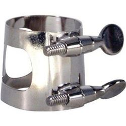 American Plating 334N Ligature for Alto Saxophone, Nickel Plated  (QUANTITY SEVEN)