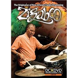 DVD Zigaboo Modeliste: The Originator of New Orleans Funky Drumming