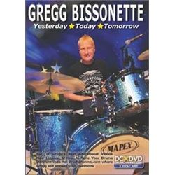 DVD Gregg Bissonette: Yesterday, Today, Tomorrow Featuring Private Lesson and Playing, Reading, and