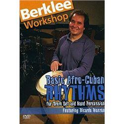 DVD Ricardo Monzon: Basic Afro-Cuban Rhythms
