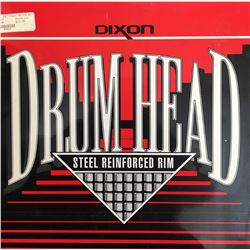 "Dixon Clear White 14"" drum head"
