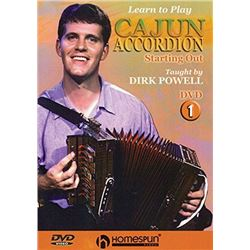 Learn to Play Cajun Accordion: DVD One - Starting Out Audio CD