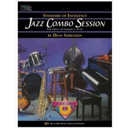 Standard of Excellence Jazz Combo Session-  Trumpet, Tenor Saxophone, Clarinet, Baritone TC