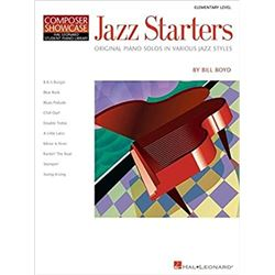 Jazz Starters: Elementary Level Composer Showcase Paperback