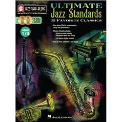 Ultimate Jazz Standards Jazz Play-Along Volume 170