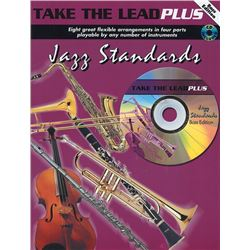 Take the Lead Plus: Jazz Standards Arr. various Bass Clef Instruments Book & CD