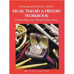 Standard of Excellence Book 1 - Theory & History Workbook