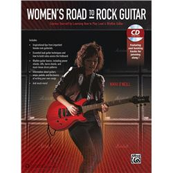 Women's Road to Rock Guitar Express Yourself by Learning  to Play Lead & Rhythm Guitar