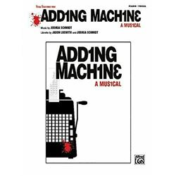 Adding Machine -- A Musical (Selections) Piano/Vocal/Chords