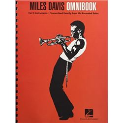 Miles Davis Omnibook For C Instruments