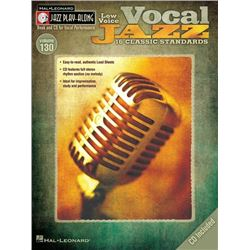 Vocal Jazz (Low Voice) Jazz Play-Along Volume 130