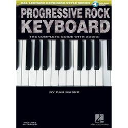 Progressive Rock Keyboard: The Complete Guide [With CD] (Hal Leonard Keyboard Style)