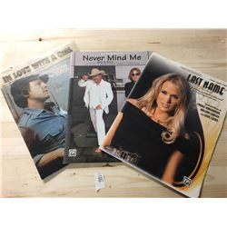 Sheet Music - Last Name, Never Mind Me, In Love With a Girl