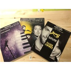 Sheet Music - Falling Slowly, Silver Lining, It's In Every One of Us