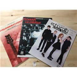 Sheet Music  - Celebration (Madonna), Cool Kids, Promiscuous