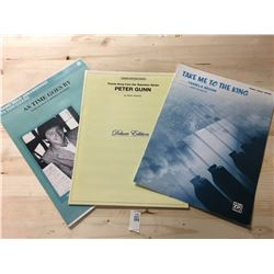 Sheet Music - Take Me to the King, Theme Song from TV Show Peter Gunn, As Time Goes By