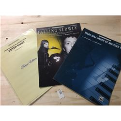 Sheet Music - There will never be another you, Falling Slowly, Theme Song from TV Show Peter Gunn