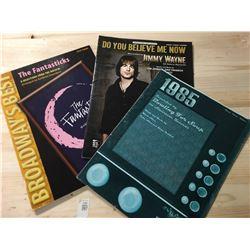 Sheet Music - The Fantastics, 1985, Do You Believe Me Now