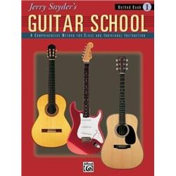 Jerry Snyder's Guitar School, Method Book 1 : A Comprehensive Method for Class and Individual Instru