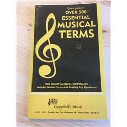 Quick Guide to Over 500 Essential Musical Terms