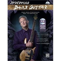 Alfred - Shredding Base Guitar + CD