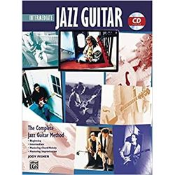 Alfred - Jazz Guitar Intermediate + CD