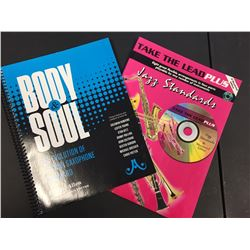 Body & soul the evolution of a tenor saxophone standard  & Take the lead plus jazz standards