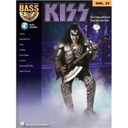 Kiss (Songbook): Bass Play-Along Volume 27